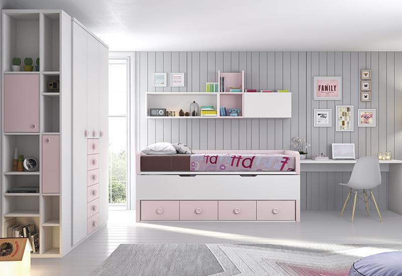 Colección Dormitorios Infantil Juvenil Muebles Modeled